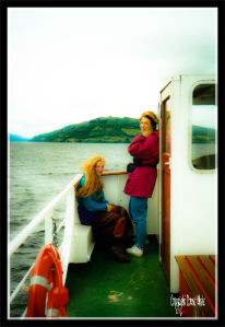 On Loch Ness in 1995