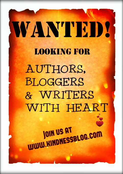 bloggers wanted - kindness