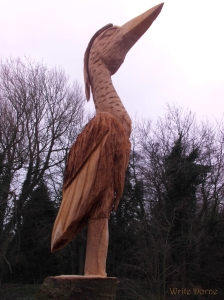 Beaver heron