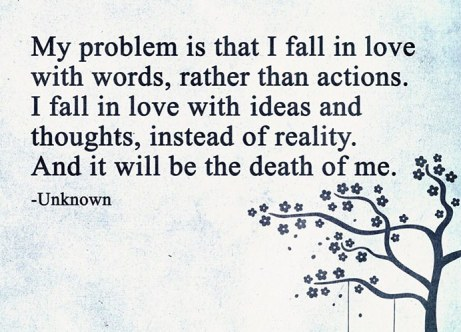 I fall in love